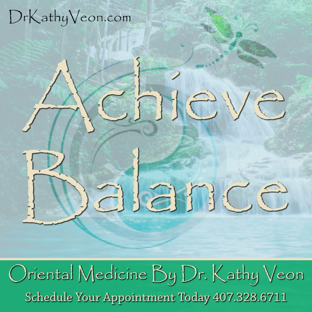 Achieve Balance with QRA by Dr Kathy Veon